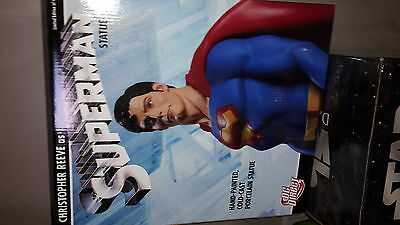 Gentle Giant DC Christopher Reeve as Superman Statue Cold Cast Porcelain