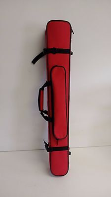 One Piece Clarinet Case - Red & Black VGC *Barely Used* [Shoulder Strap Missing]