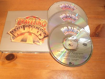 The Traveling Wilburys Collection Used 2007 Three Disc Card Case Cd Album.