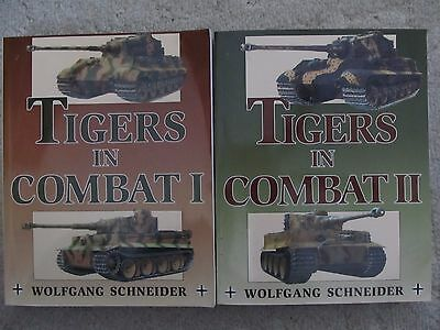 Tigers in Combat Volume 1 and 2 by Wolfgang Schneider (2005, Paperback)