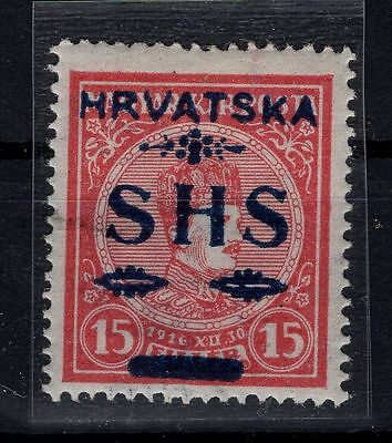 P22529/ Yugoslavie For Croatia / Mi # 65 Neuf * / Mint Mh 120 €