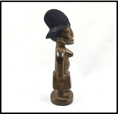 Vintage Yoruba Ibeji twin figure NICE LOOK Nigeria folk art tribal African
