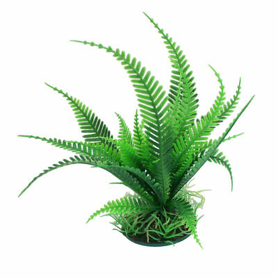 Faux Plante En Plastique Aquarium Aquascaping Poisson Aquarium Décoration Vert