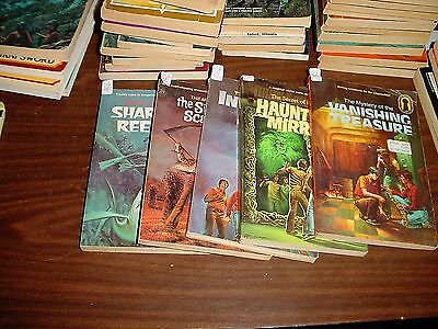 Choose One of Five of The Three Investigators Books, Keyhole Edition