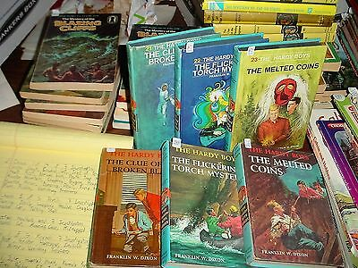 The Hardy Boys Books Old and New Versions of 21, 22, 23