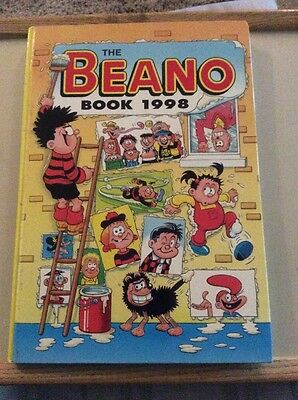 The Beano Book 1998 (Annual) Hardback Book