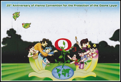 25 Years of Vienna Convention for the Protection of the Ozone Layer-PC(I)- (MNH)