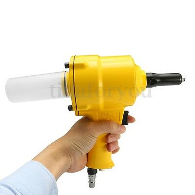 1/4'' Pneumatic Air Riveter 2.4/3.2/4.0/4.8mm impact Pop Operated Rivet Building