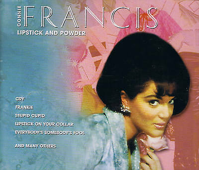 "CONNIE FRANCIS TRIOLOGIE ""Barra de labios And Powder"" 3 CD-Box & TIM 2001"