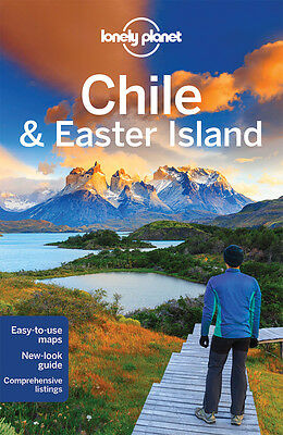 Lonely Planet CHILE & EASTER ISLAND (Travel Guide) - BRAND NEW 9781742207803