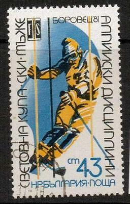 Bulgaria Sg2918 1981 Winter Olympic Games F/used