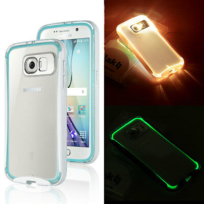 Ultra-Slim Shockproof Hybrid Clear Hard Cover Case for Samsung Galaxy S6