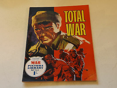 WAR PICTURE LIBRARY NO 265!,dated 1964!,GOOD for age,great 53!YEAR OLD issue.