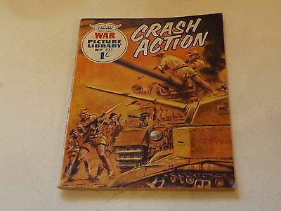 WAR PICTURE LIBRARY NO 331!,dated 1966!,GOOD for age,great 51!YEAR OLD issue.