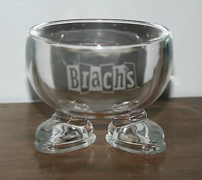 VINTAGE BRACHS Candy, Nut Dish, Bowl - Clear With Feet - Not Another One On Ebay