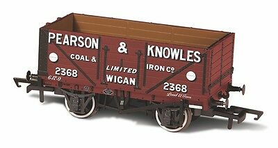 Bnib Oxford Rail Or76Mw7023 Pearson & Knowles 7 Plank Mineral Wagon