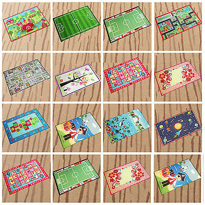 New Modern Kids Girls Boys Bedroom Playroom Non Slip Floor Mat Carpets Play Rugs
