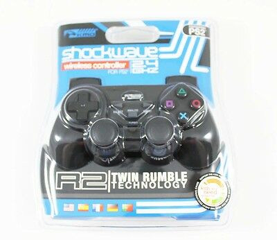 PS2 Playstation 2 New Shockwave Wireless Controller