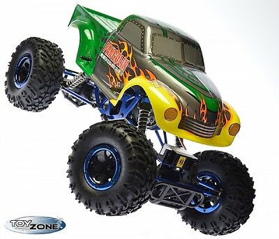 RC Monstertruck Crawler Climber Rock Fighter 1:10 HSP 2,4 GHz Rc Auto RTR
