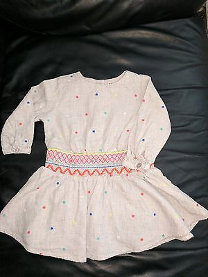 Next dress age 9-12 months. Perfect condition.