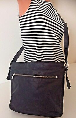 Fossil Issue No 1954 Green Leather Cross Body Tote Shoulder Purse Bag