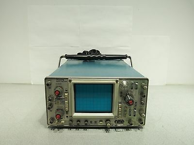 Tektronix 475 Portable Oscilloscope 2 Channel 200MHZ Tested Working
