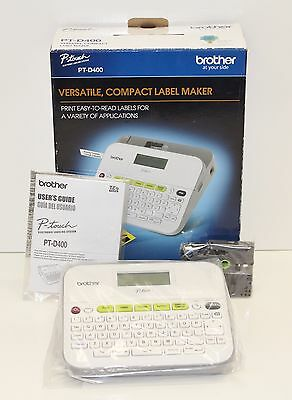 New Brother P-Touch PT-D400 Label Maker