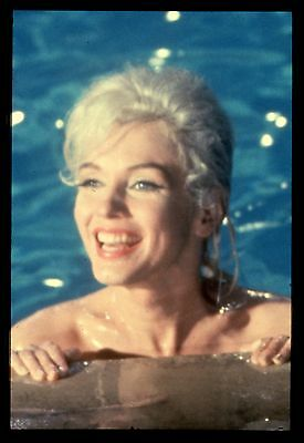 "35mm color transparency/slide photo marilyn monroe in ""something's got to give."""