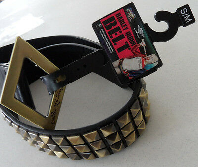 DC Comics HARLEY QUINN Suicide Squad STUDDED BELT Costume Cosplay Size S/M NEW!