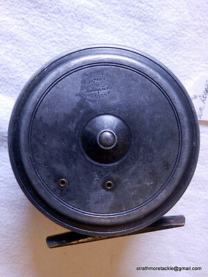 """Vintage Wm. Robertson Glasgow 4"""" Fly Reel By Dingley Excellent"""