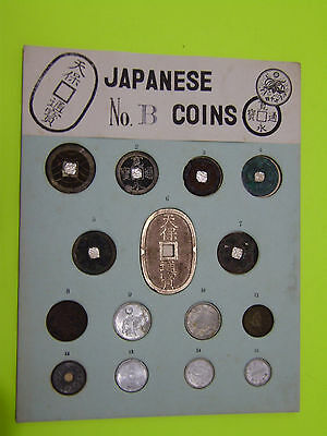 Japan Japanese Coin 15 Different Different Vintage Dates