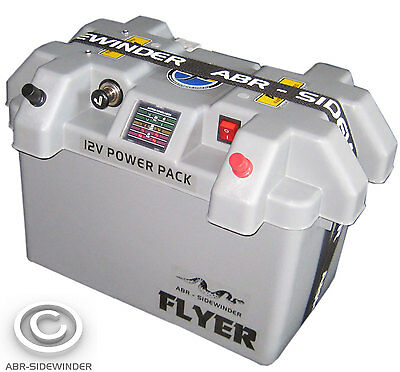 Flyer Power Pack - Dual Battery System Powerpack 12V Dc - Genuine Power Pack Abr