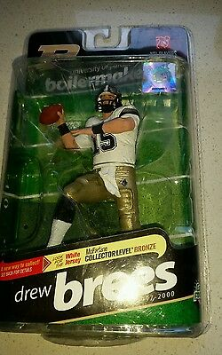 Drew Brees Purdue McFarlane figure