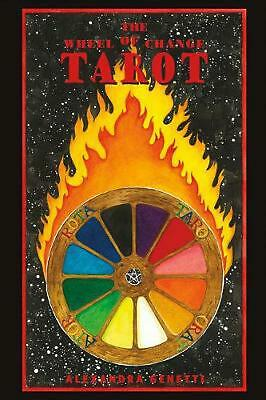 The Wheel of Change Tarot by Alexandra Genetti Paperback Book (English)