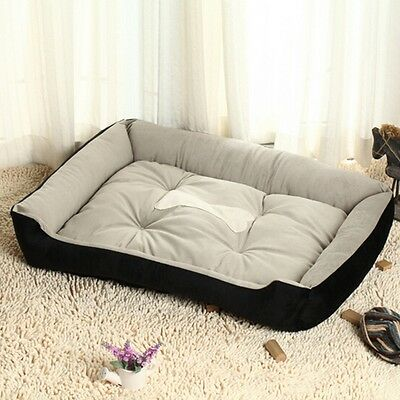 Extra Large Size Luxury Pet Dog Cat Puppy Bed Mat Pad Kennel Cushion House Warm