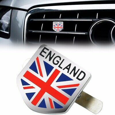 New Style Metal England UK Flag AUto Front Grill Emblem Badge Sticker Decal