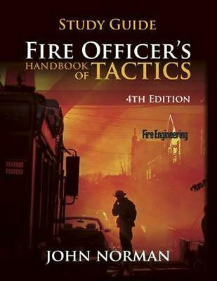 Fire Officer's Handbook of Tactics by John Norman (English) Paperback Book