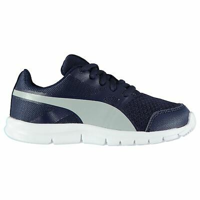 Puma Kids Flexracer Boys Trainers Runners Lace Up Shoes Running Cross Training