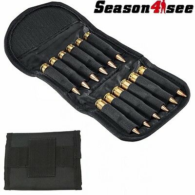 12 Round Shells Rifle Ammo Holder Carrier Holds 30-06 Bullet Wallet for Belt
