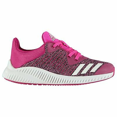adidas Kids FortaRun Girls Trainers Lace Up Shoes Lightweight Textile