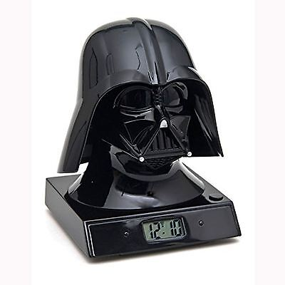 Official Star Wars Darth Vader Projection Alarm Clock New Kids