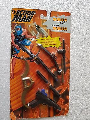 HASBRO ANNO 1996 NINJA SET ACTION MAN ARMI NINJA