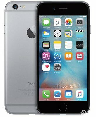 Apple iPhone 6 16GB IOS Smartphone Space Grey Unlocked + Warranty