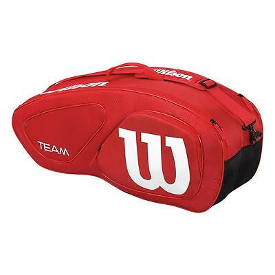 Wilson Team II 6 Racket Racquet Holder Bag - NEW 2017