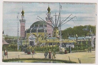 Liege Exhibition 1905 postcard - Parc des Attractions