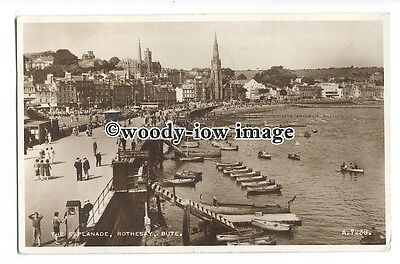 tq1242 - J.A.Freckleton a Boat Hirer on the Esplanade, at Rothsay - postcard
