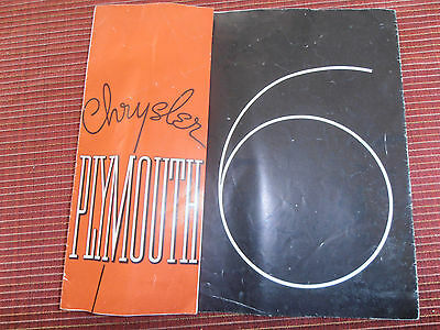 CATALOGUE CHRYSLER PLYMOUTH 6 ( ref 47 )