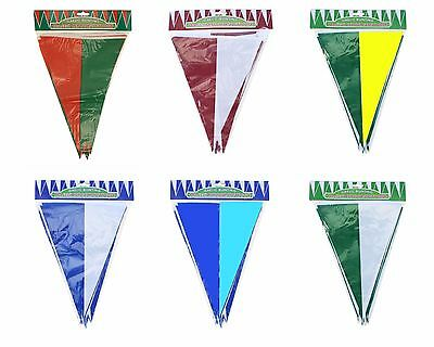 GAA County Colour Flag Bunting 10 Metre - Mayo Kerry Dublin Galway