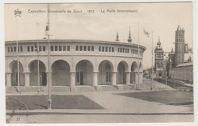 Gand Exhibition 1913 postcard - Le Halle International