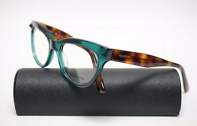 VALENTINO V2689 Women's 315  Green-Havana Eyeglasses Demo Lenses /UA16-3/20